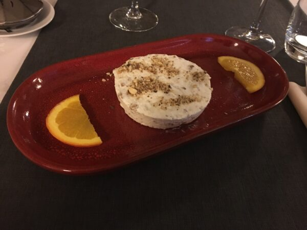Nougat glacé du restaurant La Souris d'agneau